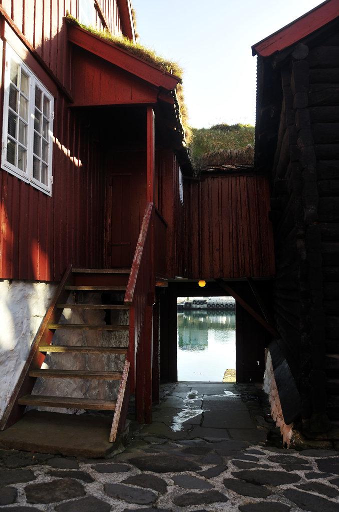 färöer inseln - thorshaven - tinganes detail 2