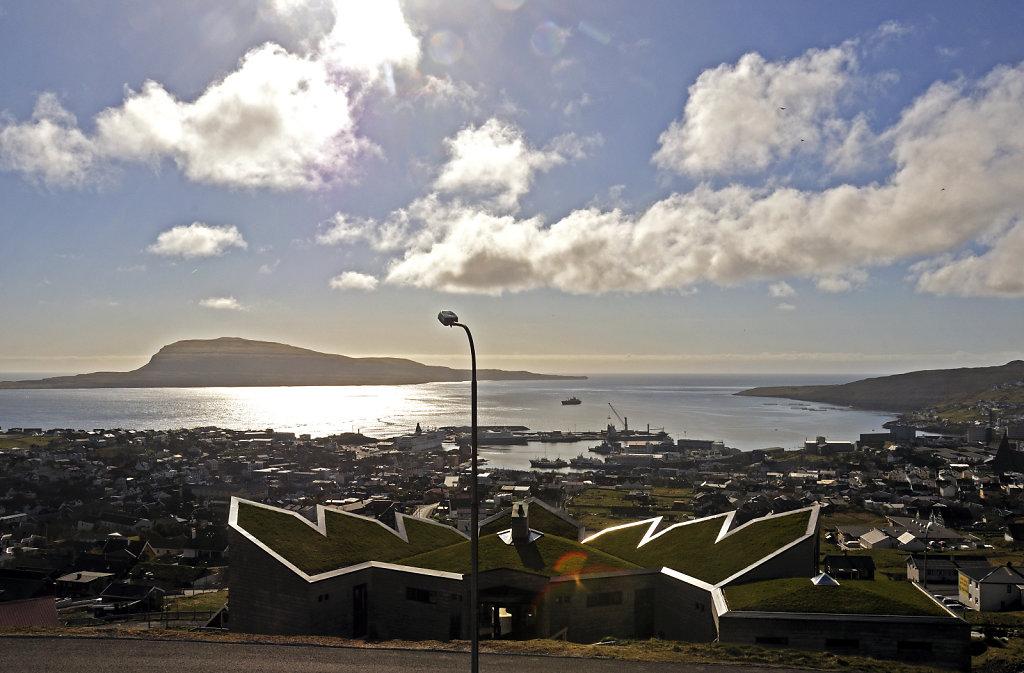 färöer inseln - thorshaven -  der blick