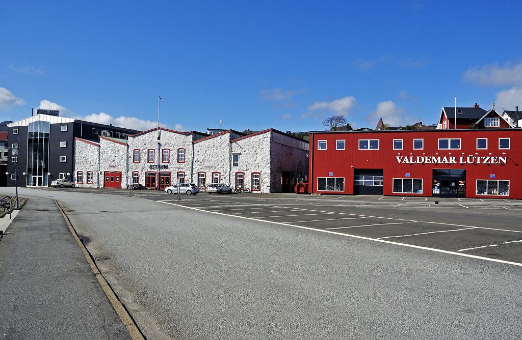 färöer inseln - thorshaven - am westhafen