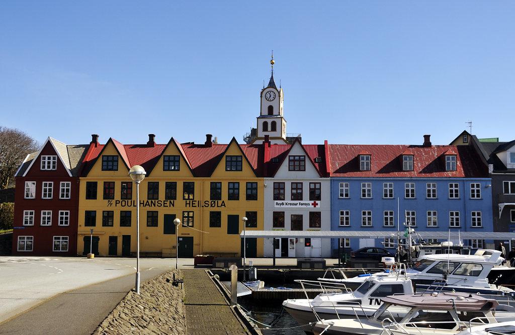 färöer inseln - thorshaven - am westhafen teil 4
