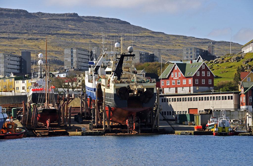 färöer inseln - thorshaven -  westhafen teil 5