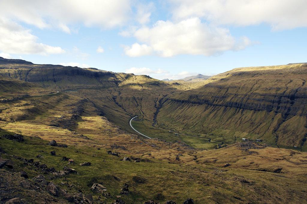 färöer inseln - auf streymoy - kaldbaksfjord