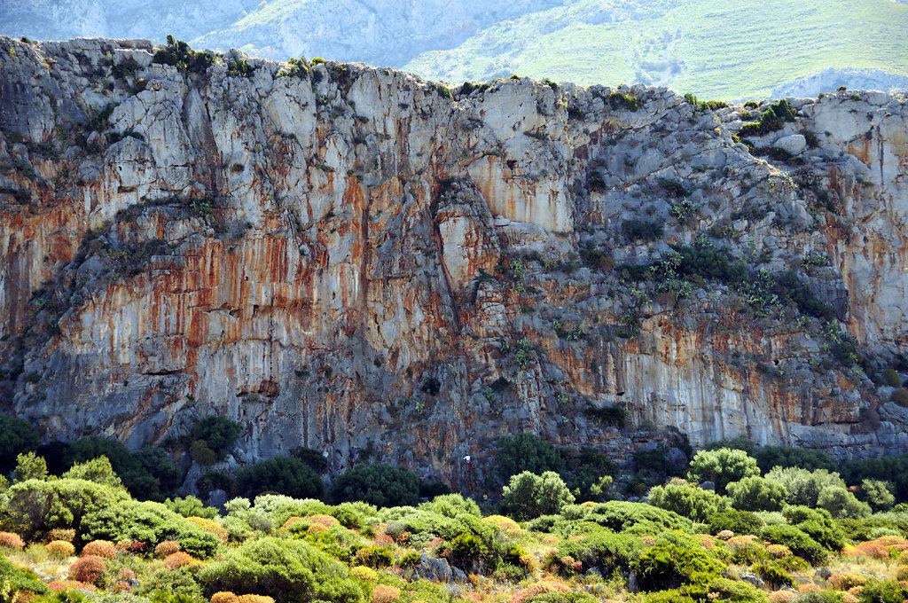 die nordwestspitze mit san vito lo capo - kletterwand teil 3 - 2