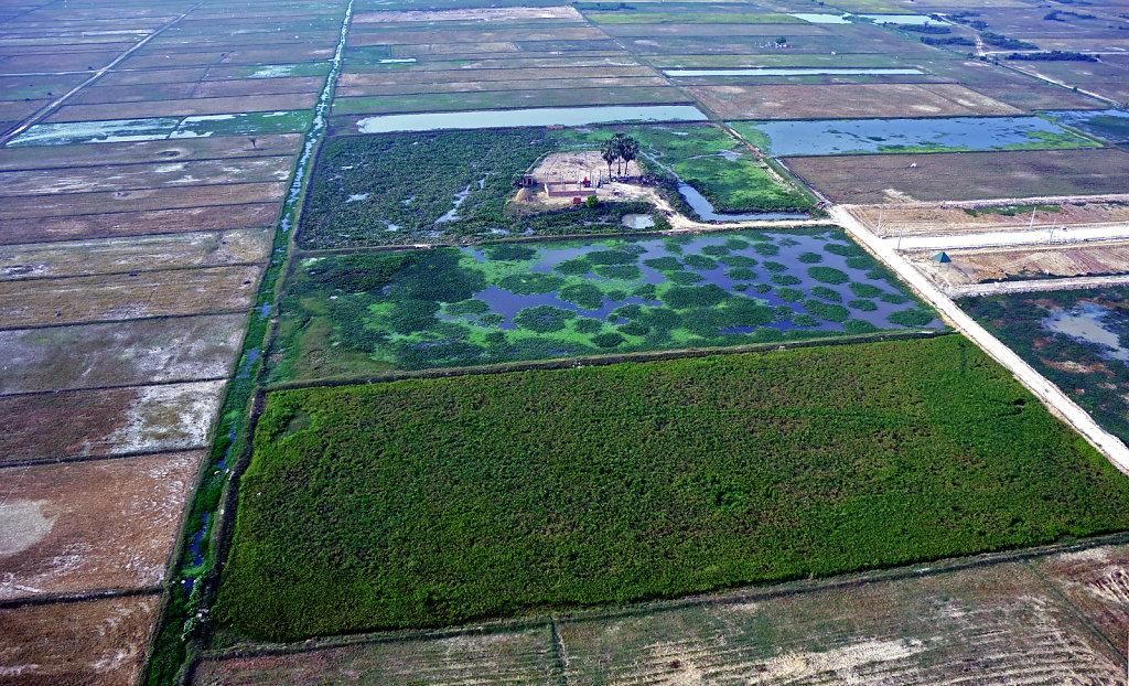 Kambodscha - Flug über Siem Reap (02)