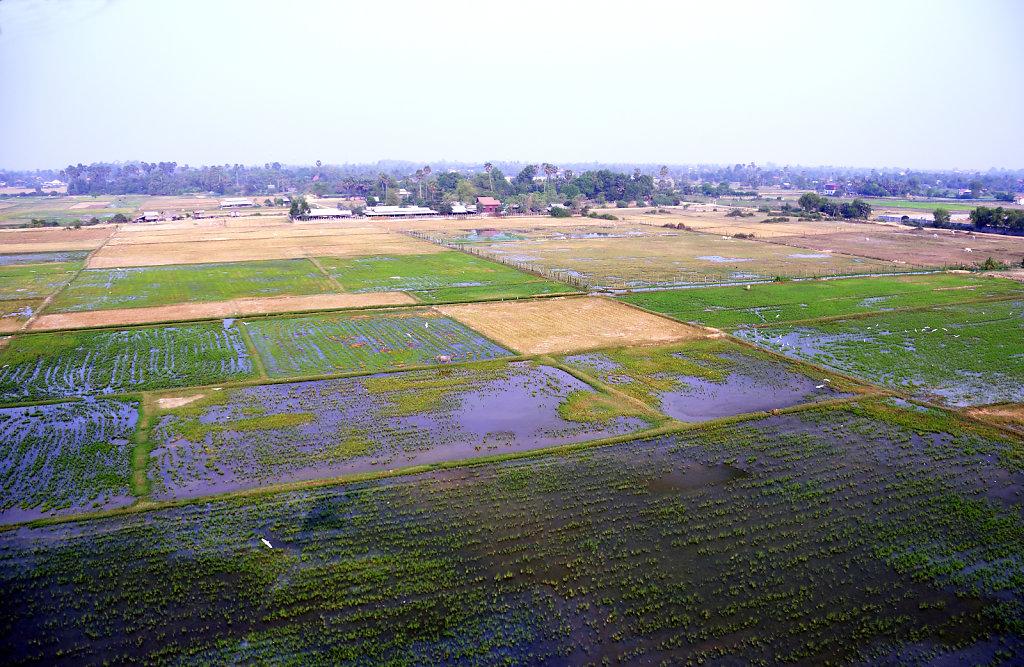 Kambodscha - Flug über Siem Reap (03)