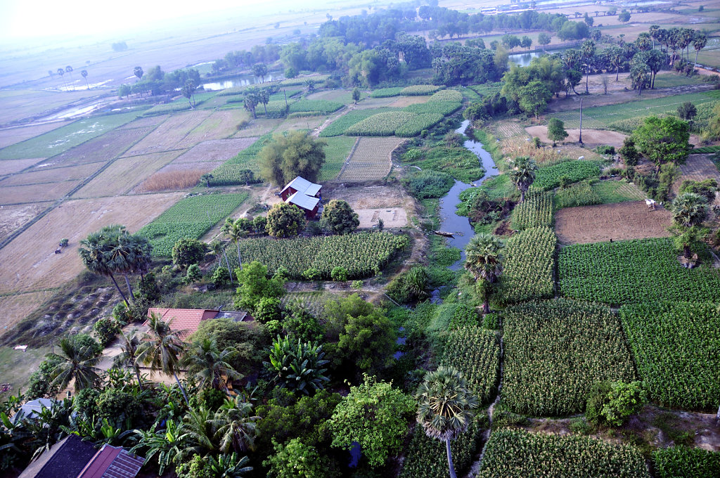 Kambodscha - Flug über Siem Reap (10)