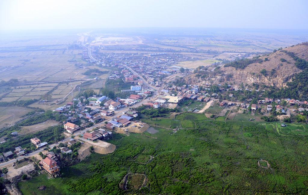 Kambodscha - Flug über Siem Reap (13)