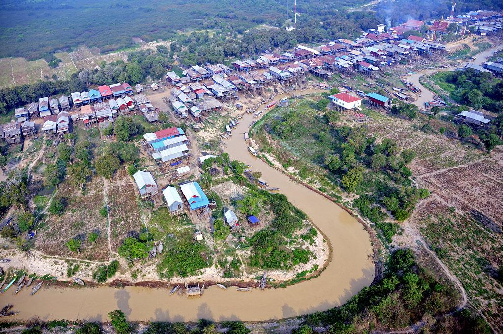 Kambodscha - Flug über Siem Reap (30)