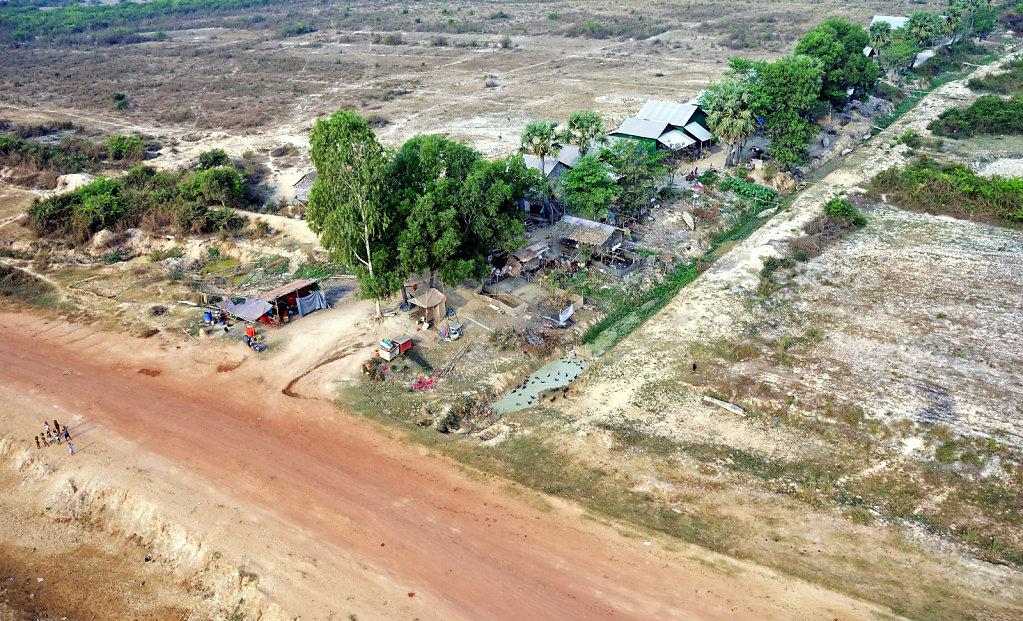 Kambodscha - Flug über Siem Reap (41)