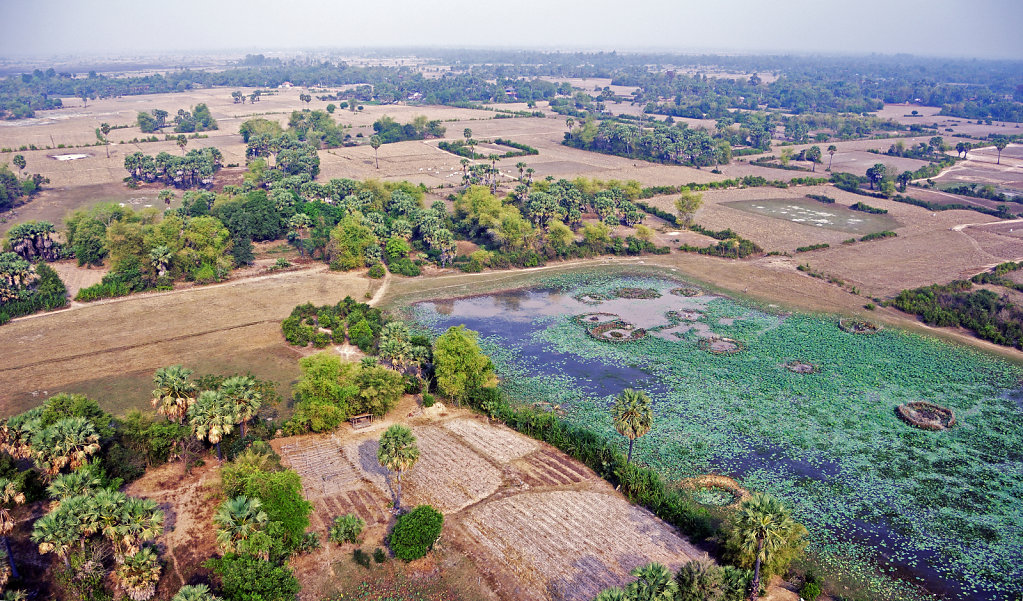 Kambodscha - Flug über Siem Reap (46)