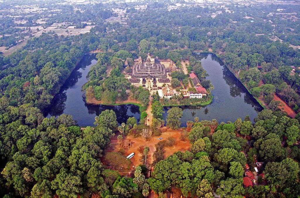 Kambodscha - Flug über Siem Reap (49)