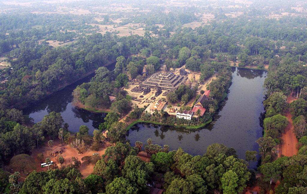 Kambodscha - Flug über Siem Reap (50)