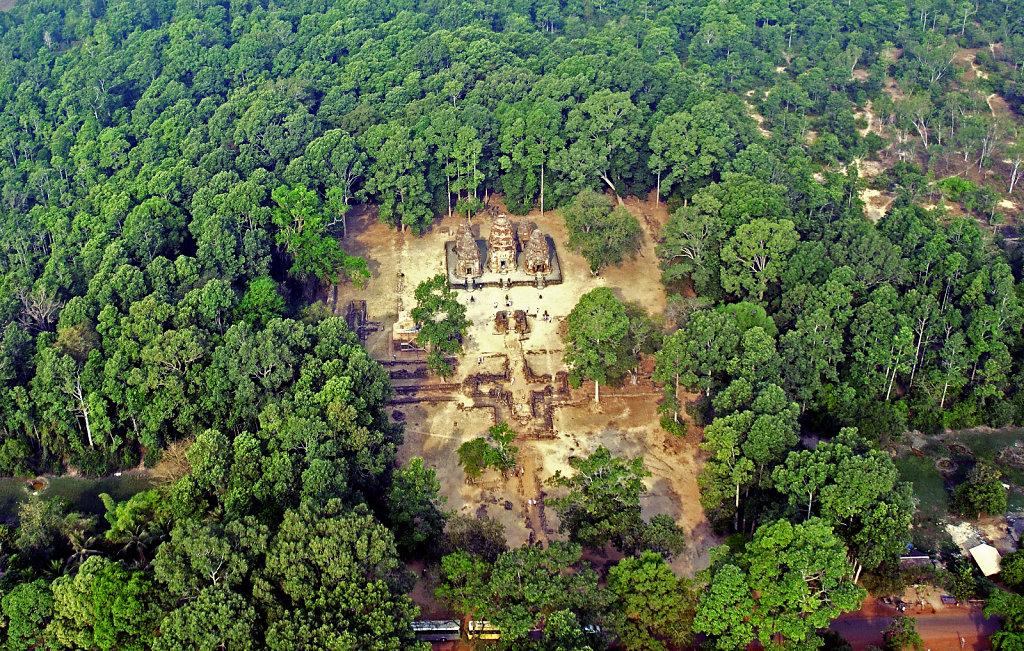 Kambodscha - Flug über Siem Reap (51)