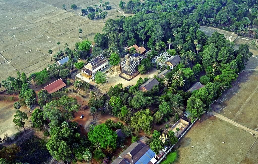 Kambodscha - Flug über Siem Reap (53)