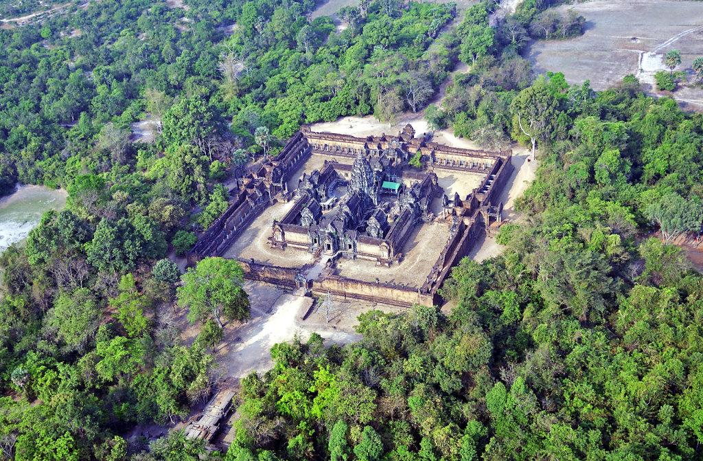 Kambodscha - Flug über Siem Reap (60)