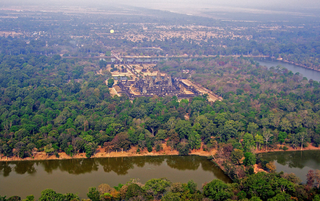 Kambodscha - Flug über Siem Reap (71)