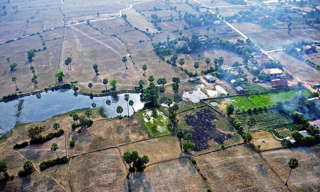 Kambodscha - Flug über Siem Reap (73)