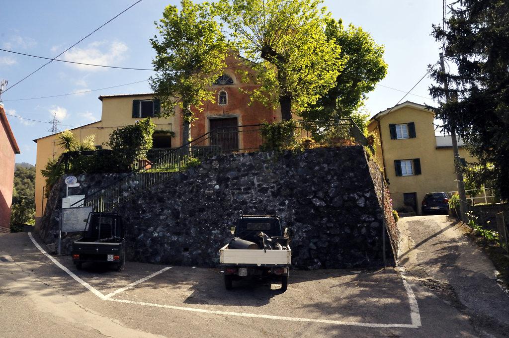 cinque terre – ridarolo - parkplatz