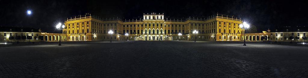 österreich - wien - night shots – schloss schönbrunn - teilp