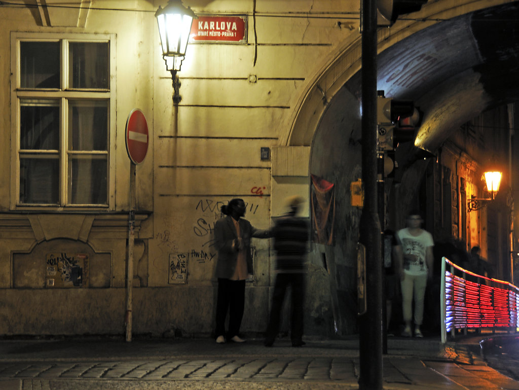 tschechien - prag - night shots - streetlife