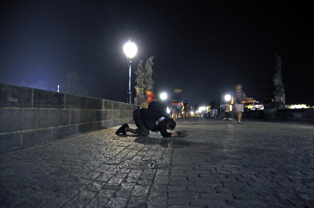 tschechien - prag - night shots - demut