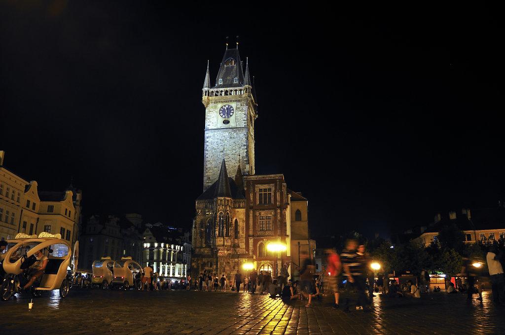 tschechien - prag - night shots - das rathaus