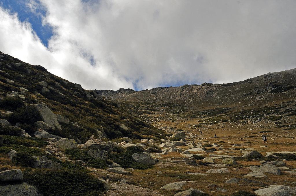 korsika  - aufstieg zum monte renoso und dem  bastanisee -  teil