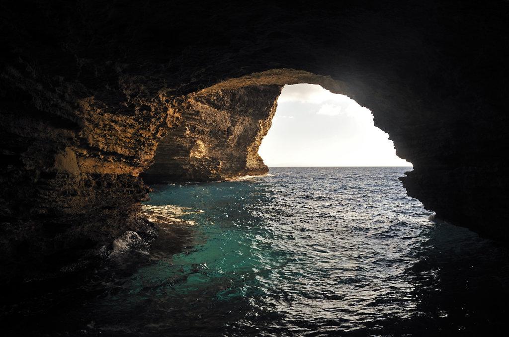 korsika  bonifacio - vom schiff aus - sdragonato-grotte teil 2