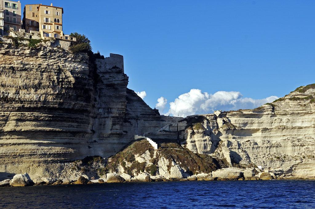 korsika  bonifacio - vom schiff aus -  teil 6