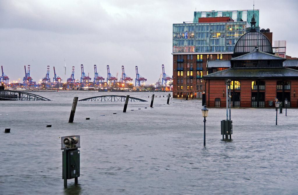 hamburg - sturmflut dezember 2013 – land unter teil 4