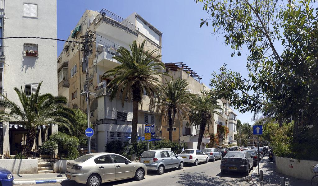 israel – tel aviv - nördliches  stadtzentrum