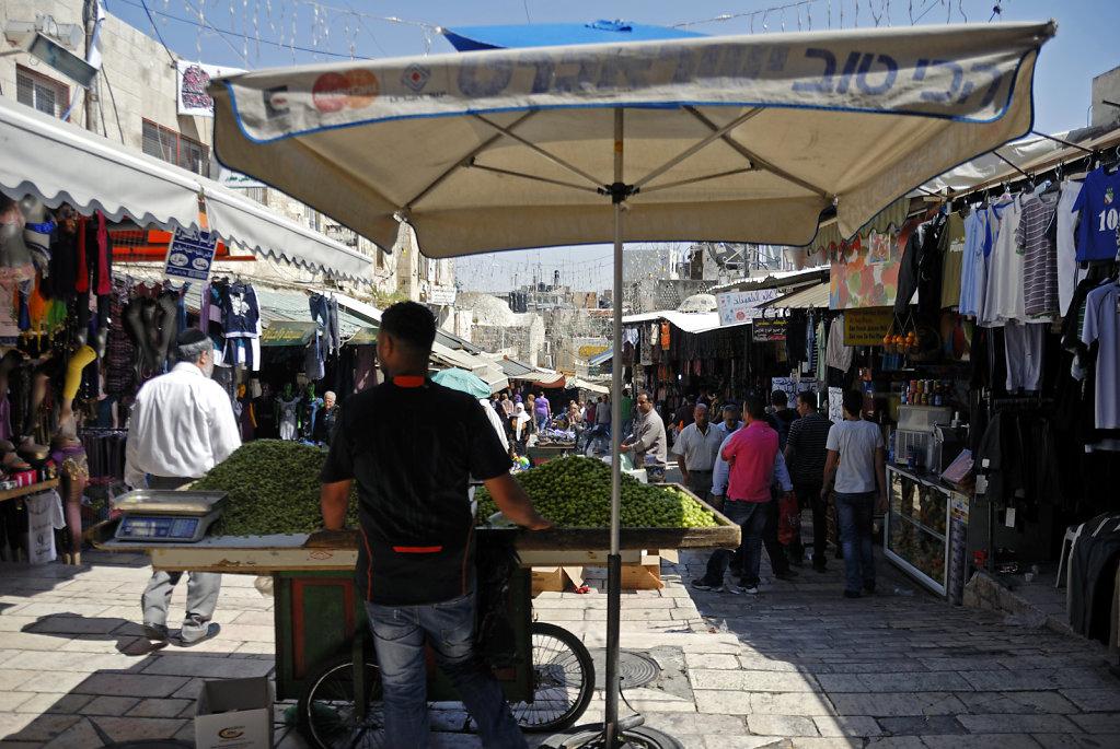 israel – jerusalem -in der altstadt