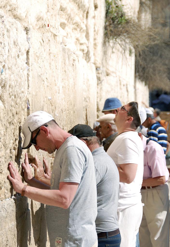 israel – jerusalem - vor der klagemauer 6