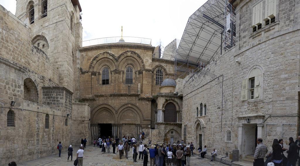 israel – jerusalem - in der altstadt - die grabeskirche teilpa