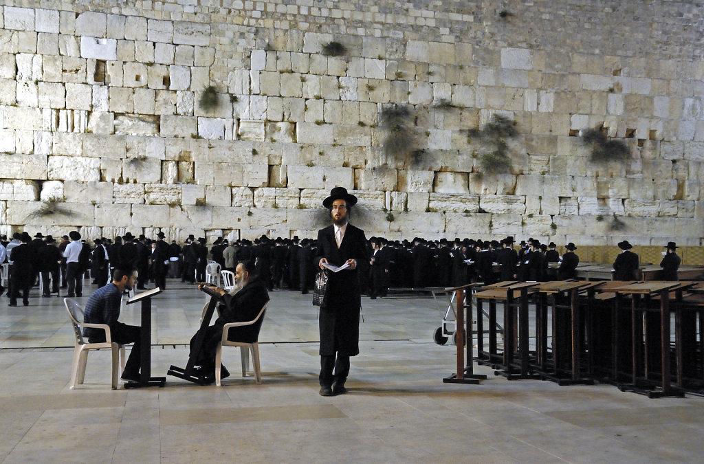israel – jerusalem - vor der klagemauer nachts teil 5