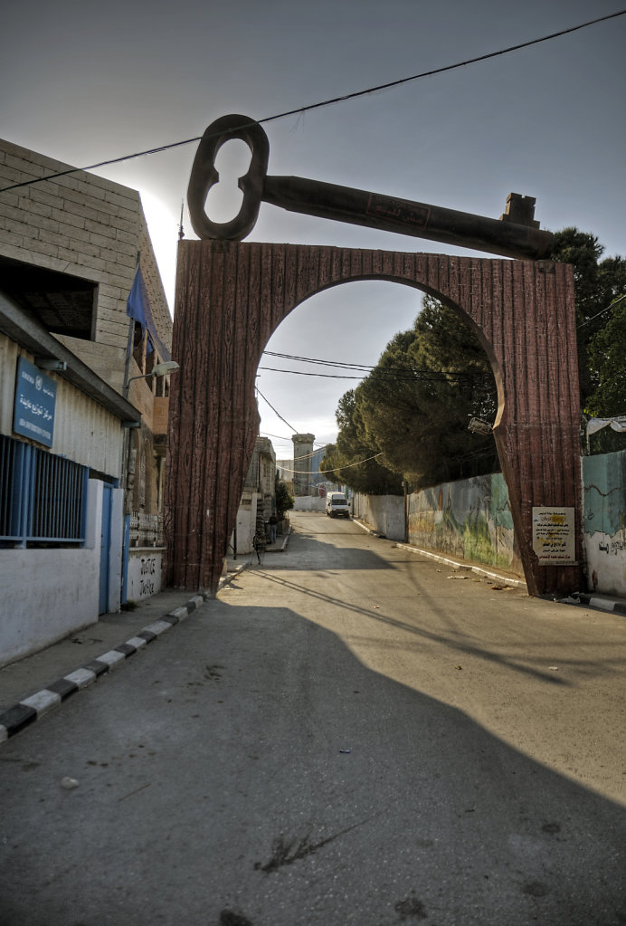 palästina- bethlehem - der schlüssel