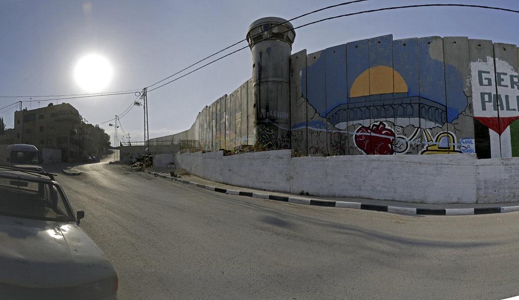 palästina- bethlehem - der wunsch