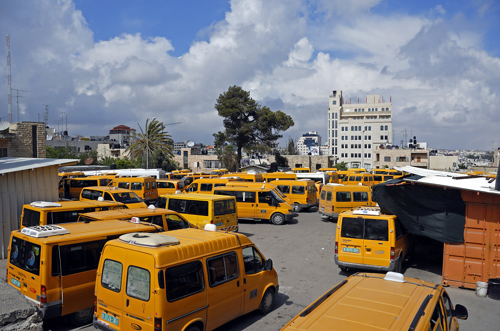 palästina- ramallah - busstation