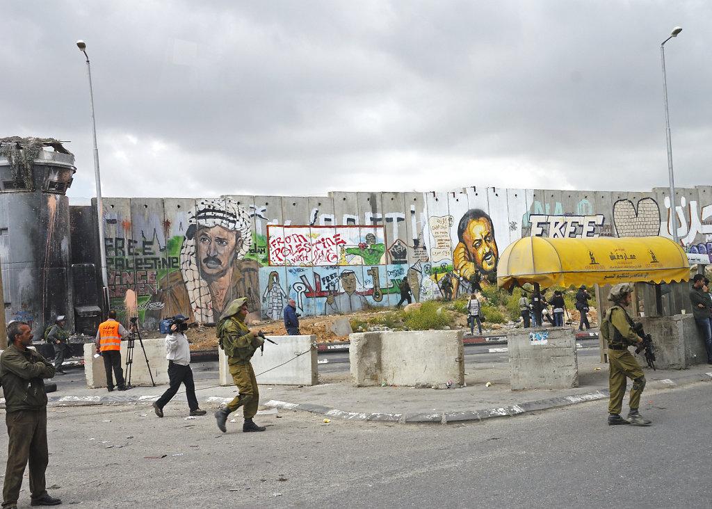 palästina- ramallah - qalandia teil 4