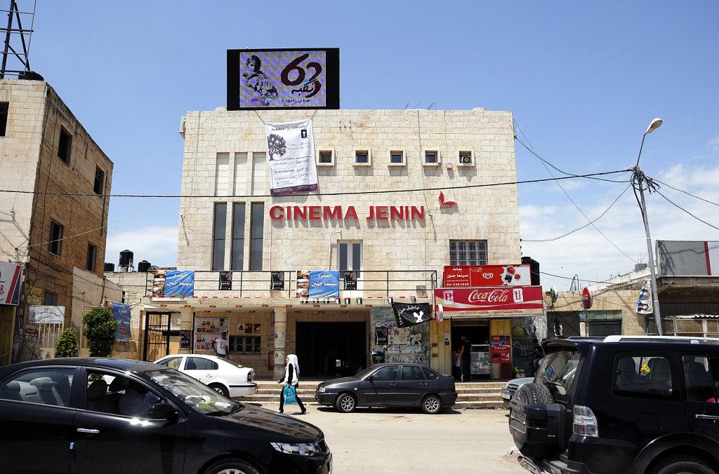 palästina- jenin - cinema jenin