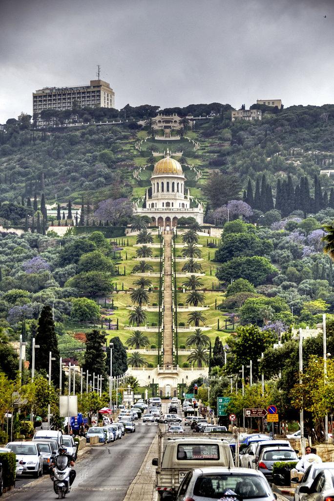 israel – haifa - die gärten der bahai