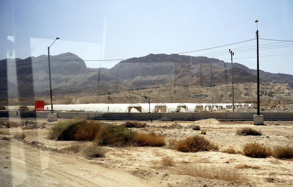 israel- totes meer -unterwegs -  drive by (foto-)shooting 2