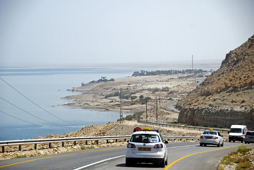 israel- totes meer - unterwegs -  drive by  (foto-)shooting 3