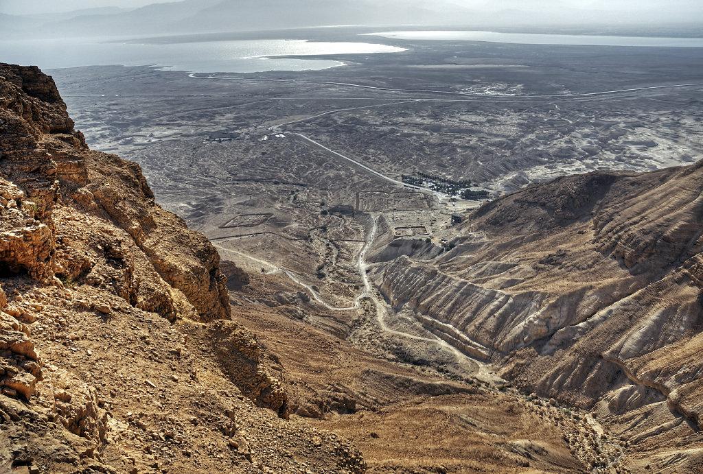 israel- totes meer - masada  – südseite