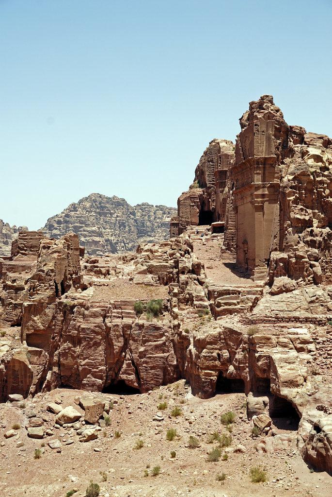 jordanien - petra - uneishu-grab