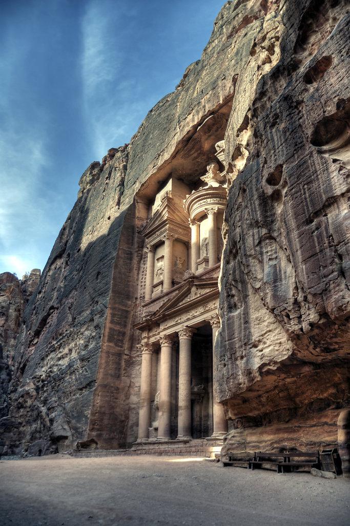 jordanien - petra - al kazane / das schatzhaus teil 4