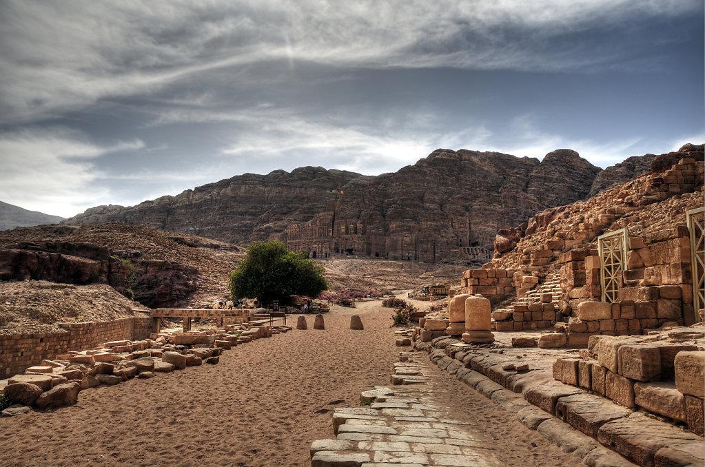 jordanien - petra - cardo maximus teil 2
