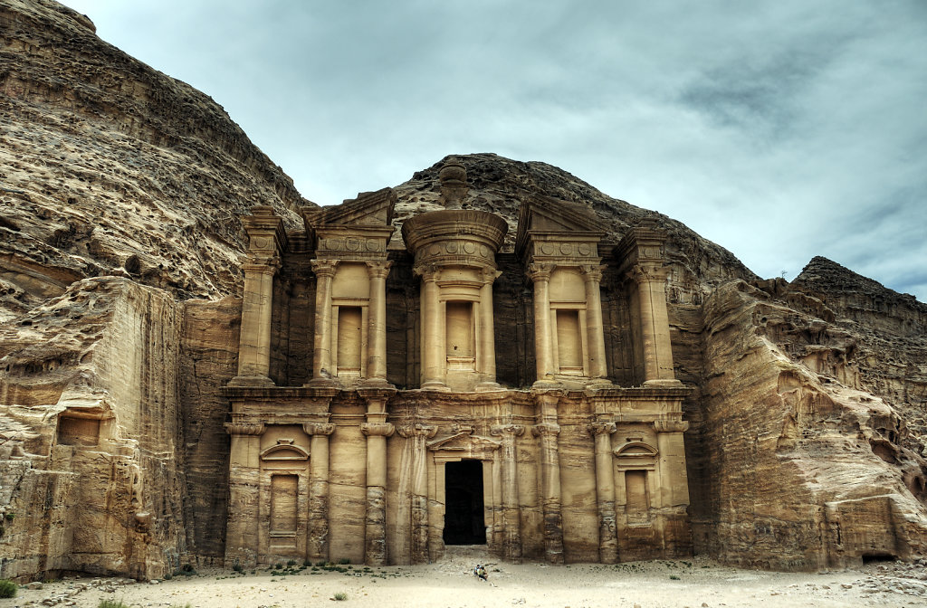 jordanien - petra - el-deir