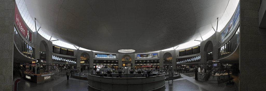israel – tel aviv - ben gurion airport teilpanorama