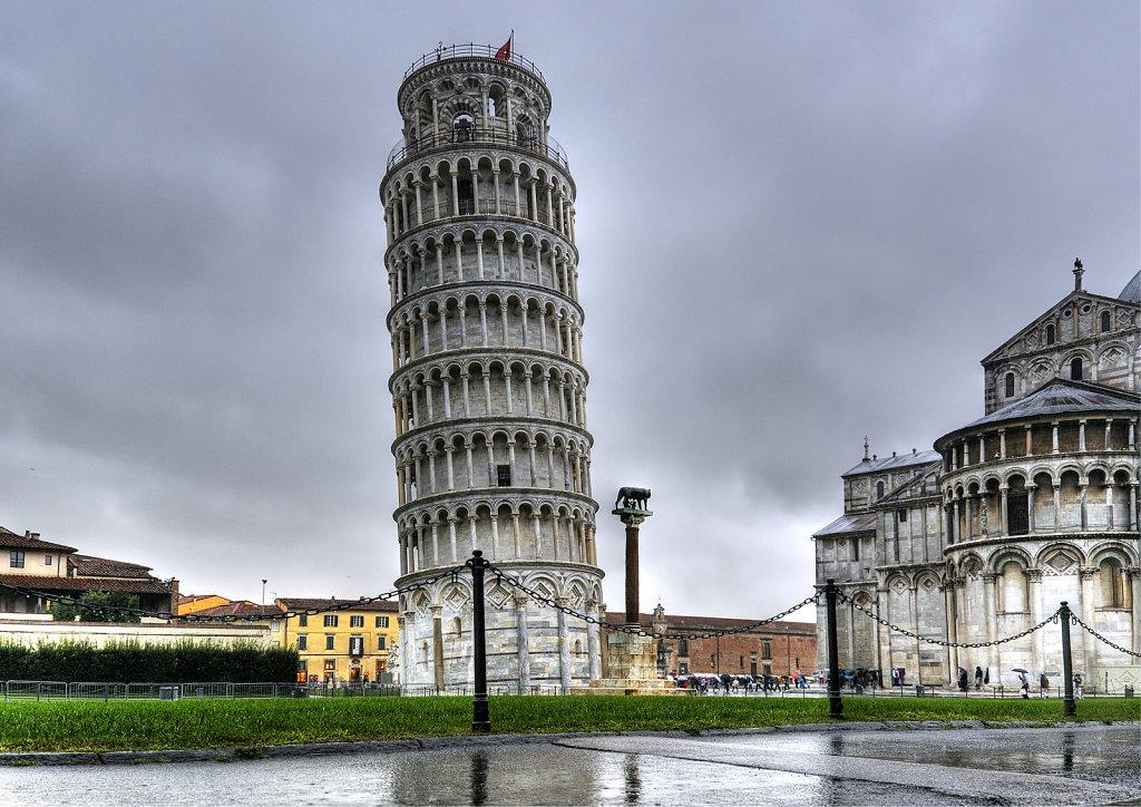 italien - pisa - der schiefe turm